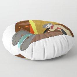 Quantum destabilizer Floor Pillow