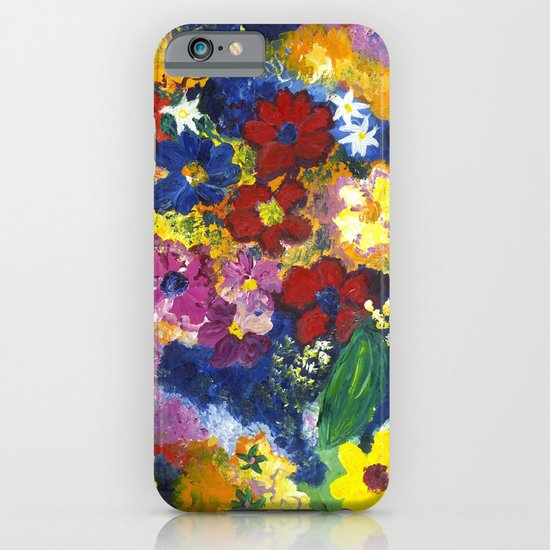 Bright Flowers iPhone & iPod Case