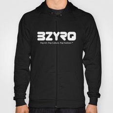 BZYRQ Logo (White on Black) Hoody