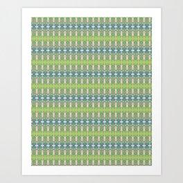Green Wall Art Print