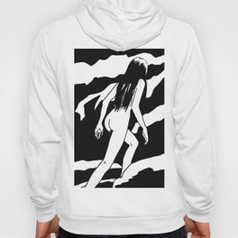 Nude ascending cliff Hoody