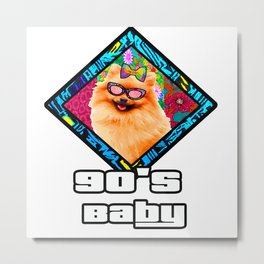 90's baby Diva Metal Print