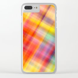 Colorful Design Clear iPhone Case