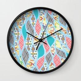 Summer Celebration Wall Clock