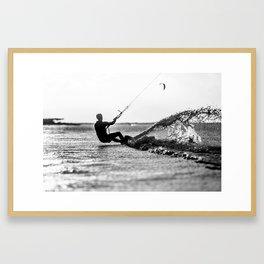 Kite Power Framed Art Print