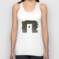 greece Tank Tops featuring Greece by Paul Stickland for StrangeStore