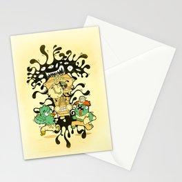 Clockwork parasite Stationery Cards