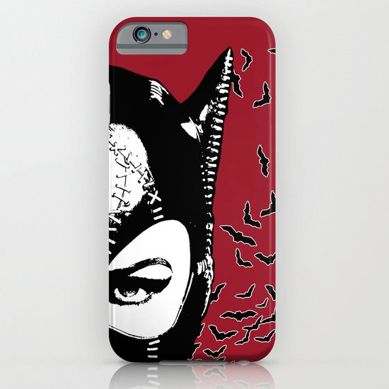 Red Catwoman iPhone & iPod Case
