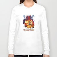 teen titans Long Sleeve T-shirts featuring Titans by CromMorc