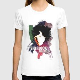 Sherlock Painted T-shirt