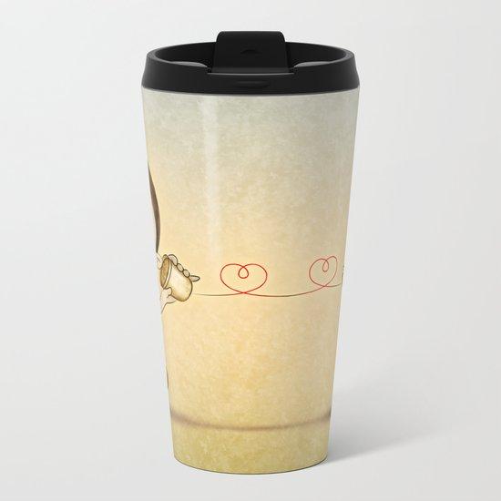 Phone Metal Travel Mug