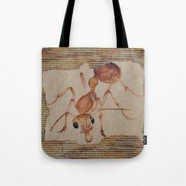 Brown Ant Tote Bag