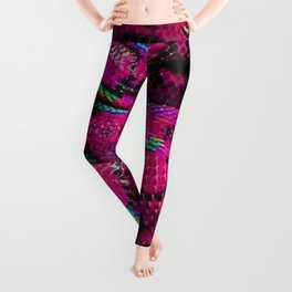 Pink Barbie Snake Leggings