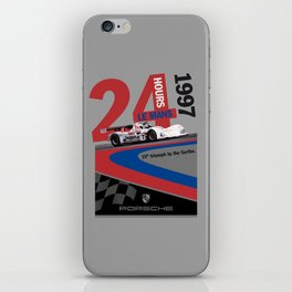 Porsche: The Missing Poster iPhone Skin