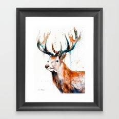 STAGS Framed Art Print