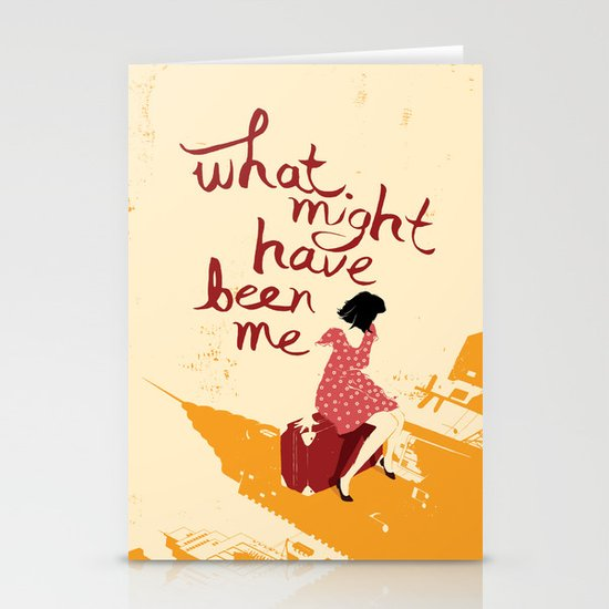 What Might Have Been Me Stationery Cards