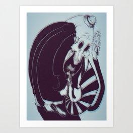 Marmalade Grimmm Art Print