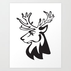 burguete logo Art Print