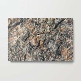 Stone background Metal Print