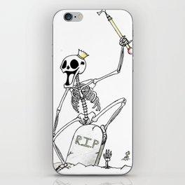 Skull King iPhone Skin