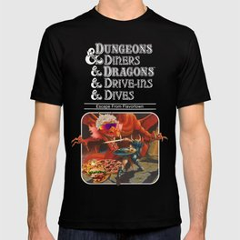 Dungeons & Diners & Dragons & Drives - Ins & Dives : escape from flavortown T-shirt