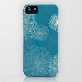 Spider Chrysanthemums iPhone Case