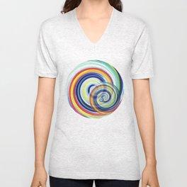 Swirl No. 1 Unisex V-Neck