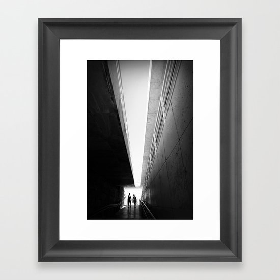 Perspective for two Framed Art Print