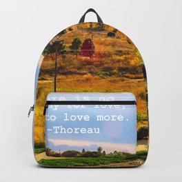Love As Remedy Backpack