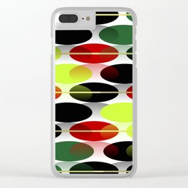 Bright colors of  autumn... Clear iPhone Case