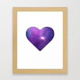 Nebular Love Framed Art Print