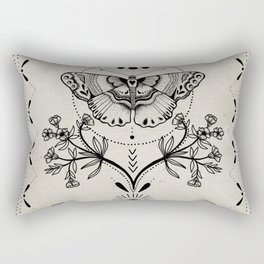 Magical Moth Rectangular Pillow