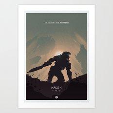 Halo 4 Poster 4 Art Print