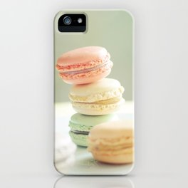 Pretty Macarons iPhone Case