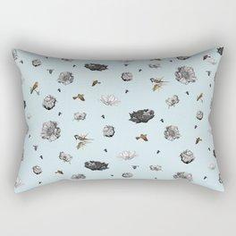 Birds of a Flower Rectangular Pillow