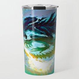 Monster Inside Egg Travel Mug