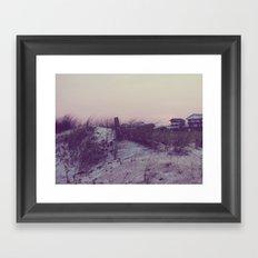 Topsail Framed Art Print