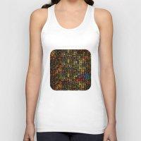 mosaic Tank Tops featuring Mosaic by Klara Acel