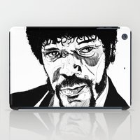 pulp fiction iPad Cases featuring Pulp Fiction by Giorgia Ruggeri