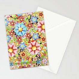 Boho Chic Millefiori Stationery Cards