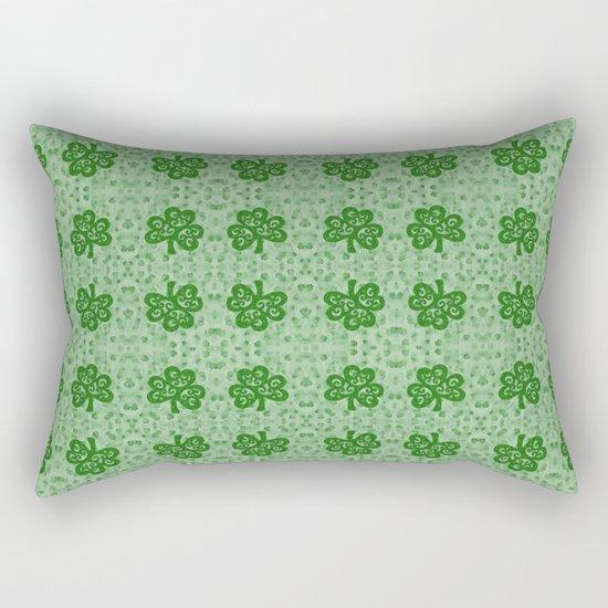 Irish Clover Rectangular Pillow