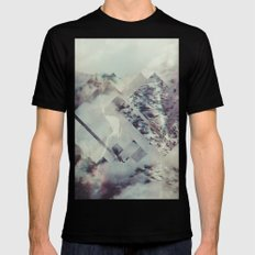 Fractions 10 X-LARGE Mens Fitted Tee Black