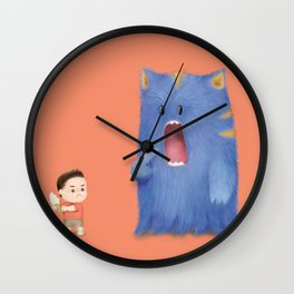Hungry Monster Wall Clock