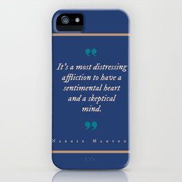 A Most Distressing Affliction iPhone Case