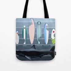 Shark Week - A balanced diet is essential  Tote Bag