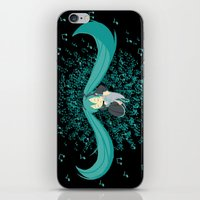 vocaloid iPhone & iPod Skins featuring MikuMiku2 by gohe1090