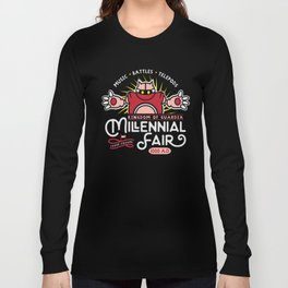 Gamer Geeky Chic Chrono Trigger Inspired Millennial Fair Videogame Fun Long Sleeve T-shirt