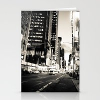 broadway Stationery Cards featuring Broadway Avenue by aldasilva