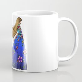 Followed by the black dog - colored Coffee Mug