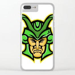 Loki Norse God Mascot Clear iPhone Case